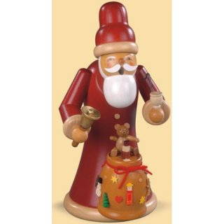 Müller Smoker Santa Claus with gifts tall