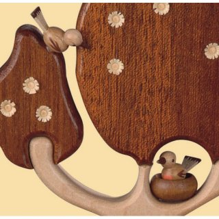 Müller music box motif plate love couple