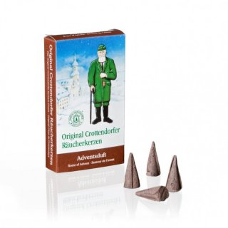 Incense cones advent fragrance