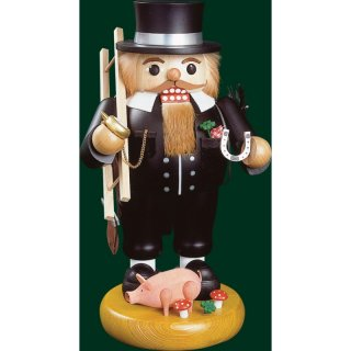 Richard Glässer nutcracker chimney sweeper lucky charm