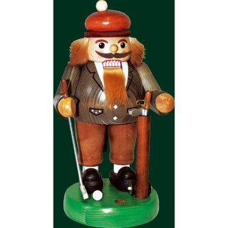 Richard Glässer nutcracker golf player