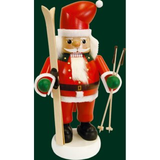Richard Glässer nutcracker Santa on skis