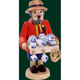 Richard Gläser Smoker porcelain dealer