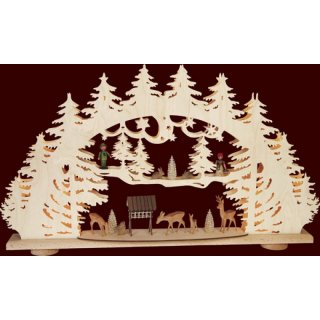 Saico 3-D candle arch forest clearing