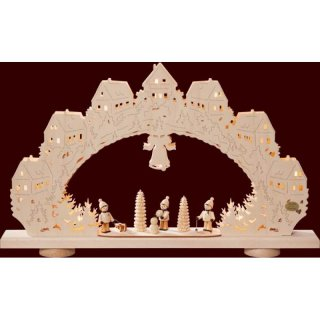 SAico 3D candle arch winter children