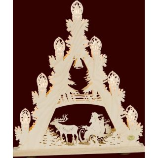 Saico 3D candle arch triangle sleigh ride