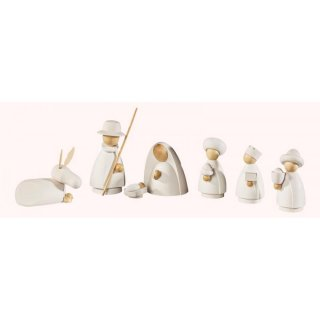 Saico figure set Holy Family nature/white set of seven