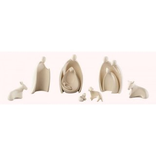 Saico figure set Holy Family nature set of nine