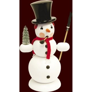 Saico Smoker snowman big, white