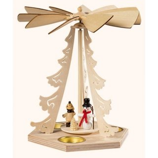 Saico table pyramid winte children with snowman