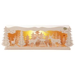 Saico illuminated candle arch elevation for triangle...