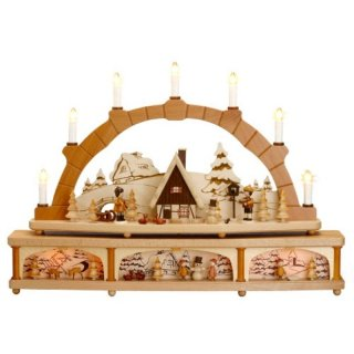 Zeidler candle arch winter children
