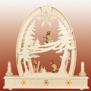 Seidel round arch winter children