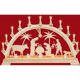 Taulin candle arch motif Christi nativity
