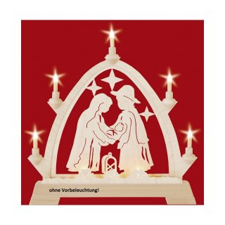 Taulin round arch Christi nativity - without front lighting