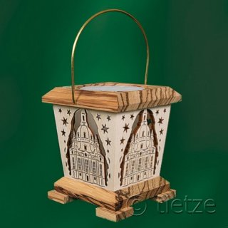 Tietze lantern/ tealight holder woman church