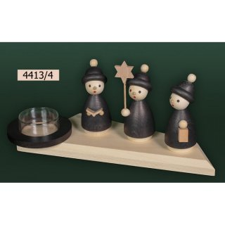 Tietze tealight holder carolers