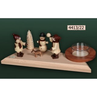 Tietze tealight holder snowball fun