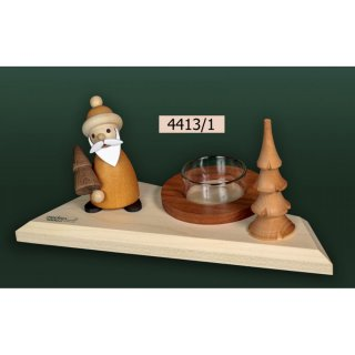 Tietze tealight holder Santa Claus