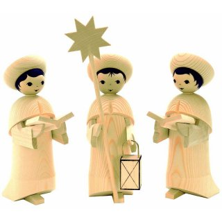 Ulmik carolers figures 3 parts