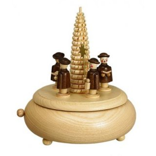 Unger music box carolers with tree