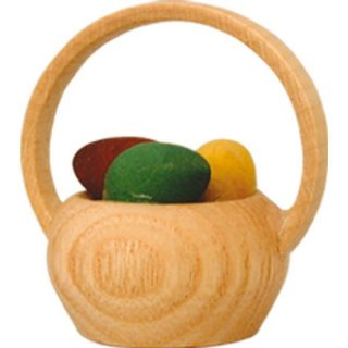Wagner basket with easter eggs