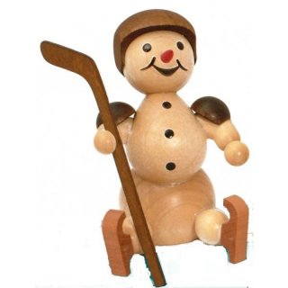 Wagner snowman ice hockey player substitute