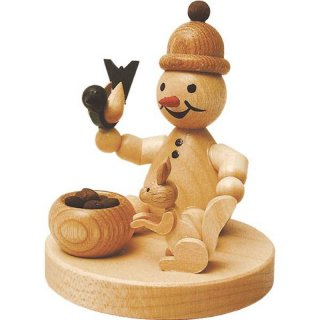Wagner snowman junior with squirrel without tree