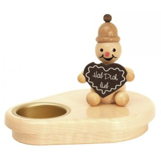 Wagner snowman chandelier gingerbread heart for 1 tealight