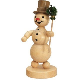 Wagner snowman with broom
