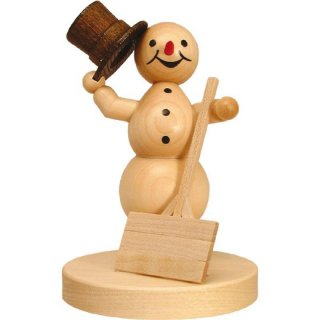Wagner snowman with shovel