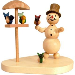 Wagner snowman with bird house