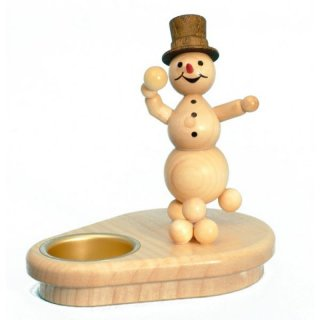 Wagner snowman chandelier snowball thrower for 1 tealight