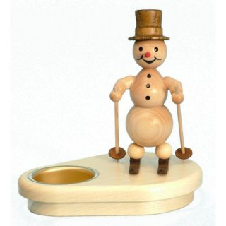 Wagner snowman chandelier skier for 1 tealight