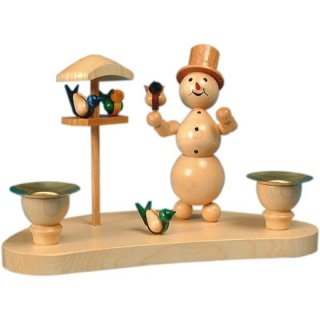 Wagner snowman chandelier bird house for 2 candles