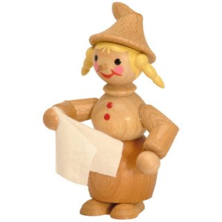 Wagner gnome woman with towel
