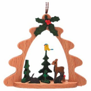 Kuhnert tree decoration motif forest deer