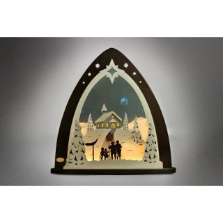 Weigla triangle arch LED Mountain chapel