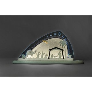 Weigla candle arch Christi nativity