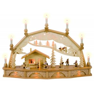 Weisbach Exclusiv candle arch winter children with moving...