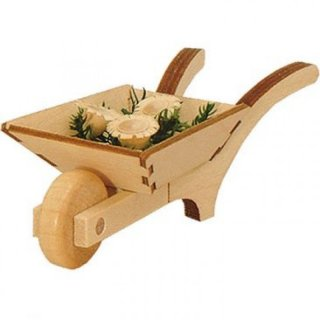 Wagner wheelbarrow with flowers