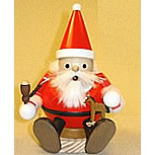 Ball Smoker Santa Claus sitting