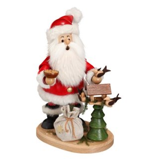 DWU Smoker Santa Claus with bird house