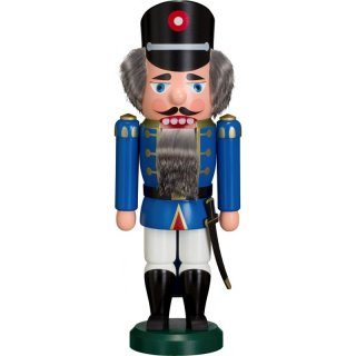 Volkskunst eG from Seiffen nutcracker police officer blue