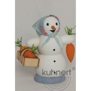 Kuhnert smoker snow woman with carrots