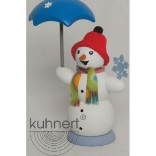 Kuhnert smoker snowman with umbrella