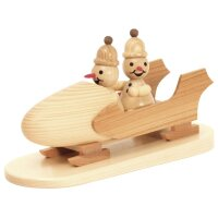 Wagner snowman junior two man bob with cap
