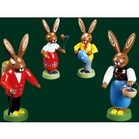Richard Glässer rabbit family