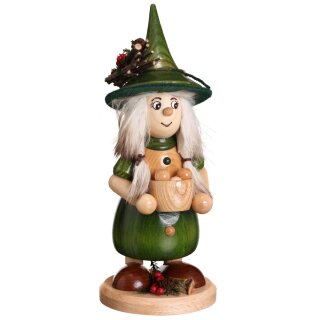 DWU Smoke woman with cooking pot green
