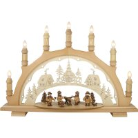 Lenk and son candle arch forest workers
